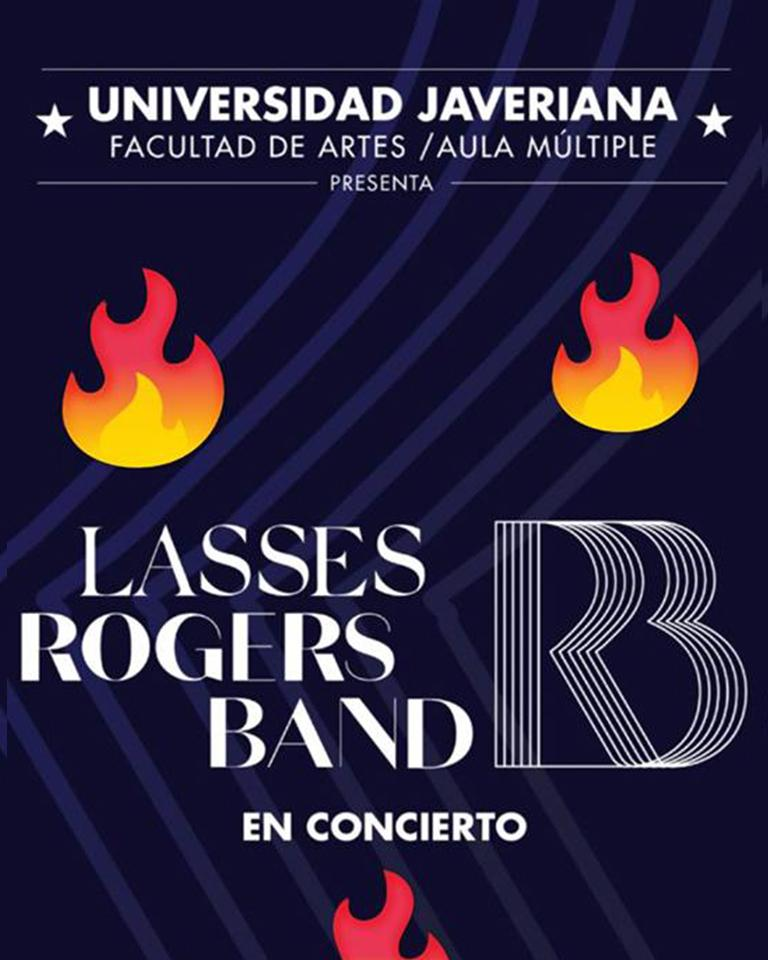 Lasses Rogers Band in concert